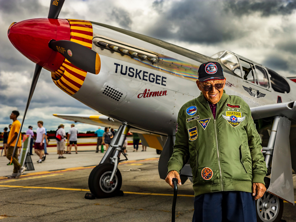Lt. Col. Bob Friend, an original Tuskegee Airman.