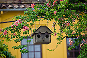Jeceaba_MG, Brasil...Detalhe de uma casa para o passaro fazer ninho...A house detail for the bird construct its nest...Foto: JOAO MARCOS ROSA / NITRO.