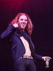 Tim Minchin plays the Golden Voice Arena..Saturday at Rockness 2012..©Michael Schofield..