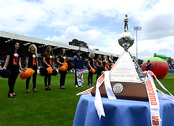 The Football Conference Championship Trophy - Photo mandatory by-line: Joe Meredith/JMP - Mobile: 07966 386802 09/08/2014 - SPORT - FOOTBALL - Bristol - Memorial Stadium - Bristol Rovers v Grimsby Town - Vanarama Football Conference - First game of the season