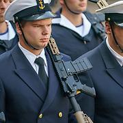 NLD/Den Haag/20180831 - Koninklijke Willems orde voor vlieger Roy de Ruiter, opkomst divser detechamenten van defensie onderdelen