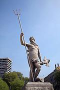 Neptune statue, Central Promenade, Bristol
