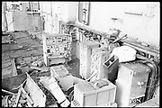 """Ackroyd 19047-R2-16 """"Zidell Exploration. Rochester Museum & Science Center"""" """"Scrapping USS Rochester. October 8, 1974"""""""
