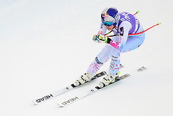 January 19, 2018 - Cortina D'Ampezzo, Dolimites, Italy - Lindsey Vonn of United States of America competes  during the Downhill race at the Cortina d'Ampezzo FIS World Cup in Cortina d'Ampezzo, Italy on January 19, 2018. (Credit Image: © Rok Rakun/Pacific Press via ZUMA Wire)