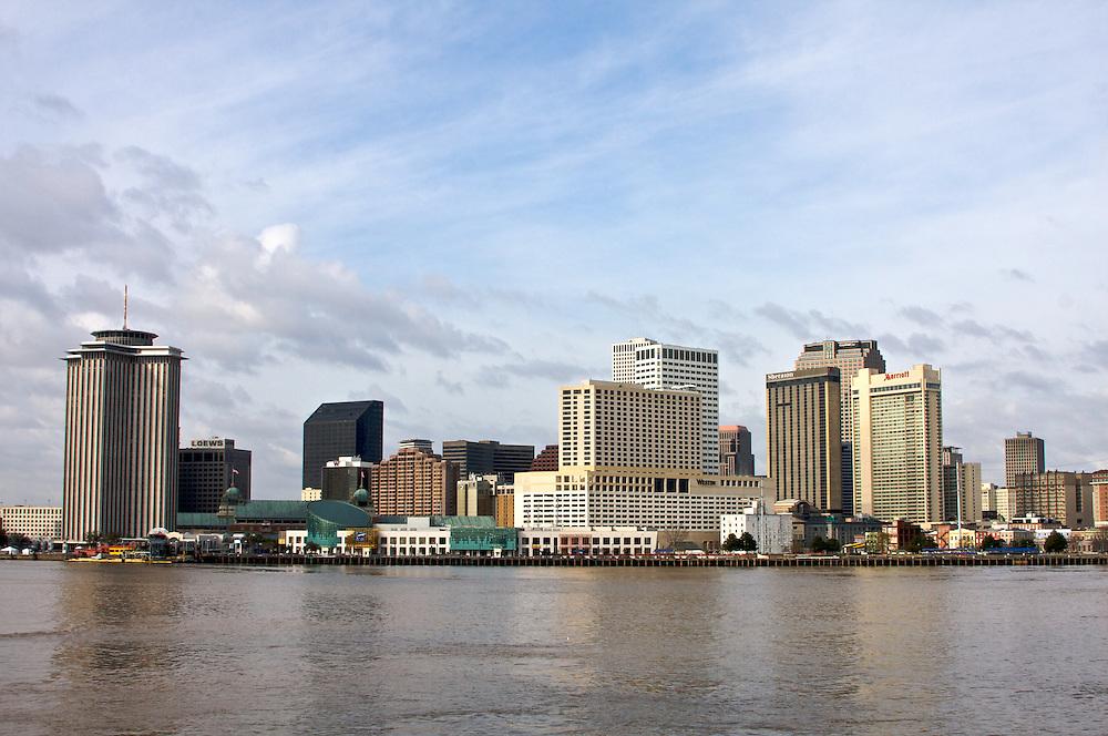 New Orleans Skyline, Mardi Gras 2012