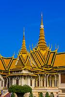 Throne Hall, Royal Palace, Phnom Penh, Cambodia.