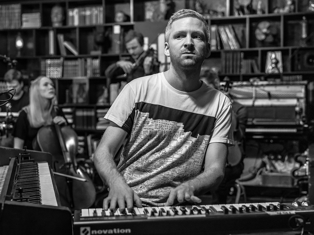 Neo-classical artist Ólafur Arnalds at Iceland Airwaves