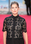 22-09-14: 'What We Did on Our Holiday' - <br /> World Premiere, Rosamund Pike arrives<br /> ©Exclusivepix