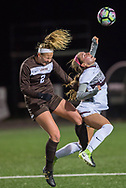 Colgate player Lindsey Wiley<br /> Colgate takes on Lehigh in women's soccer during the WSOC Patriot League Quarterfinal game, Oct. 31, 2017 in Hamilton.<br /> Mark DiOrio / Colgate University