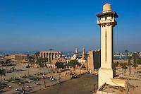 Egypte, Haute Egypte, vallée du Nil, Louxor, temple de Louxor classé Patrimoine Mondial de l'UNESCO // Egypt, Nile Valley, Luxor, The Temple of Luxor