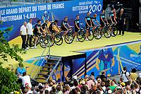 CYCLING - TOUR DE FRANCE 2010 - ROTTERDAM (NED) - 01/07/2010 - PHOTO : VINCENT CURUTCHET / DPPI - <br /> TEAM PRESENTATION - TEAM SKY