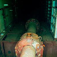 Shaft Alley, Hold, USS Kittiwake