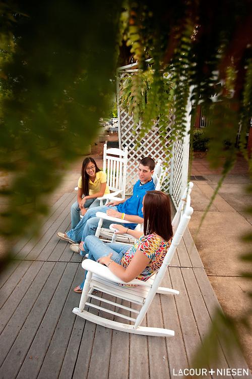 Viewbook photography for Lenoir-Rhyne University, Hickory, N.C.