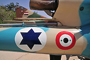 Israel, Hazirim, near Beer Sheva, Israeli Air Force museum. The national centre for Israel's aviation heritage, A captured Syrian helicopter