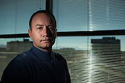 11/17/13 10:54:13 AM -- Albuquerque NM  -- Portait of Jay McCleskey at his office in Albuquerque NM.<br /> <br />  --    Photo by Steven St John