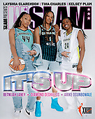 September 15, 2021 - USA: Layshia Clarendon, Tina Charles, Kelsey Plum Cover W Slam Magazine