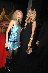 Left to right, WAFAH DUFOUR Osama bin Laden's niece and model CAPRICE at Andy & Patti Wong's Chinese new Year party held at County Hall and Dali Universe, London on 26th January 2008.<br /><br />NON EXCLUSIVE - WORLD RIGHTS (EMBARGOED FOR PUBLICATION IN UK MAGAZINES UNTIL 1 MONTH AFTER CREATE DATE AND TIME) www.donfeatures.com  +44 (0) 7092 235465
