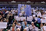 DESCRIZIONE : Beko Legabasket Serie A 2015- 2016 Dinamo Banco di Sardegna Sassari - Manital Auxilium Torino<br /> GIOCATORE : Josh Akognon<br /> CATEGORIA : Tifosi Pubblico Spettatori Coreografia Before Pregame<br /> SQUADRA : Dinamo Banco di Sardegna Sassari<br /> EVENTO : Beko Legabasket Serie A 2015-2016<br /> GARA : Dinamo Banco di Sardegna Sassari - Manital Auxilium Torino<br /> DATA : 10/04/2016<br /> SPORT : Pallacanestro <br /> AUTORE : Agenzia Ciamillo-Castoria/L.Canu