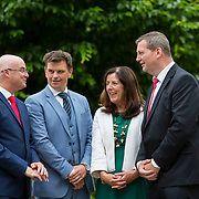 13.06.2018.            <br /> Up to 1,000 delegates visited Ireland's largest manufacturing supply chain conference and trade exhibition - Manufacturing Solutions Ireland 2018 - at Limerick Institute of Technology (LIT) in the course of today (Wednesday, June 13). <br /> <br /> Pictured at he event were, John Drysdale, Business Development Manager Shannon Group, David Murray, Cook Medical, Anne Fitzpatrick, Manager Engineering Department Enterprise Ireland and Dr. Liam Brown - Vice President Research Enterprise and Innovation, LIT.<br /> <br /> In its second year, the conference and engineering trade show, hosted by the UK tool technologies trade association - the GTMA in conjunction with LIT, exceeded last year's attendance thereby helping to generate in excess of a quarter of a million euro for the local economy. The Manufacturing Solutions event was supported by the Syndicat du Décolletage Congress also held in Limerick. Picture: Alan Place