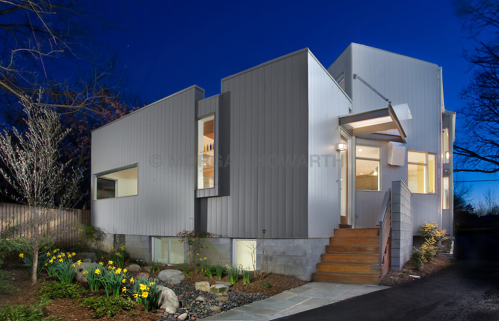 Ben Ames Architect Catherine Hailey interior designer House rear exterior