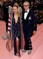 Tommy Hilfiger and Dee Ocleppo attending the Metropolitan Museum of Art Costume Institute Benefit Gala 2019 in New York, USA.