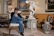 Moscow, Russia, 05/03/2006.&#xA;Italian entrepeneur David Gisi in his luxury Moscow apartment.<br />