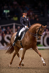 Van Baalen Marlies (NED) - BMC Miciano<br /> Kur - Reem Acra FEI World Cup Dressage Qualifier - The London International Horse Show Olympia - London 2012<br /> © Hippo Foto - Jon Stroud
