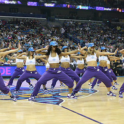 07 March 2009: New Orleans Hornets Honeybees perform during a NBA game between the New Orleans Hornets and the Oklahoma City Thunder at the New Orleans Arena in New Orleans, Louisiana.