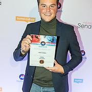 NLD/Utrecht/20171002 - Uitreiking Buma NL Awards 2017, Henk Dissel wint de award Meest Succesvolle Single - Hollands
