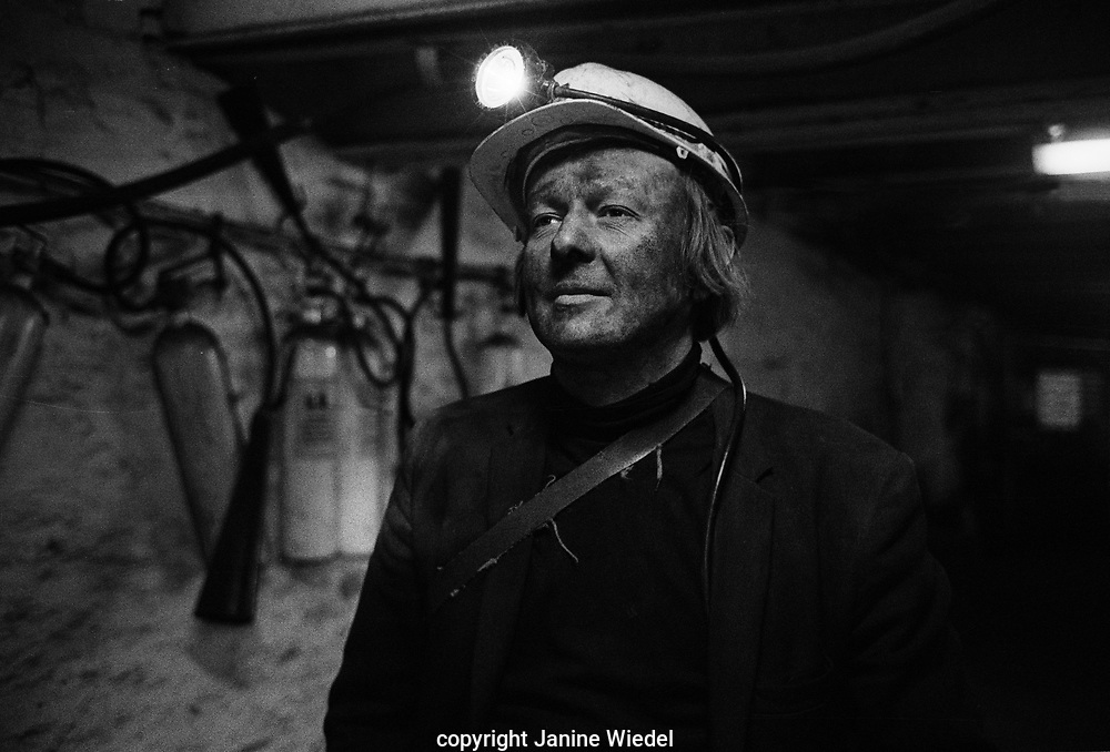Coalmining at Littleton Colliery, The West Midlands UK 1977