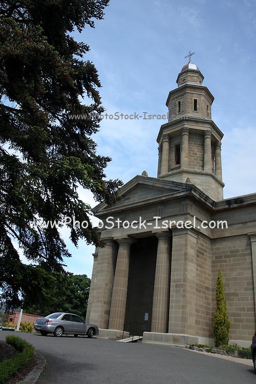 Hobart, Tasmania, Australia. Saint George's Anglican Church in Battery Point established in 1838