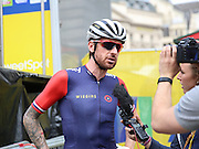Sir Bradley Wiggins. of Great Britain and Team Wiggins during the Aviva Tour of Britain London Stage eight, Regent Street, London, United Kingdom on 13 September 2015. Photo by Phil Duncan.