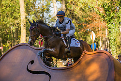 Halliday Elisabeth (USA) - Cooley Ground Control<br /> Cross country 6 years old horses<br /> Mondial du Lion - Le Lion d'Angers 2014<br /> © Dirk Caremans<br /> 18/10/14