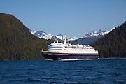 Columbia, Alaskan Ferry, Sitka, Alaska