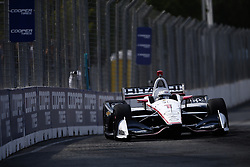 July 14, 2018 - Toronto, Ontario, Canada - JOSEF NEWGARDEN (1) of the United States takes to the track to practice for the Honda Indy Toronto at Streets of Toronto in Toronto, Ontario. (Credit Image: © Justin R. Noe Asp Inc/ASP via ZUMA Wire)