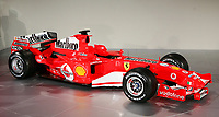 The new Ferrari F2005 F1 car at the team's headquarters in Maranello.<br /> <br /> <br /> <br /> <br /> <br /> Photo Munch / Graffiti