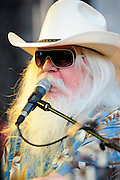 Leon Russell plays at the the 2011 Bumbershoot Festival in Seattle
