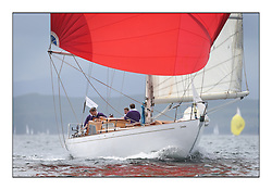 Day one of the Fife Regatta, Round Cumbraes Race.<br /> <br /> Sonata, Patrick  Caiger-Smith, GBR, Bermudan Sloop, Wm Fife 3rd, 1950<br /> <br /> * The William Fife designed Yachts return to the birthplace of these historic yachts, the Scotland's pre-eminent yacht designer and builder for the 4th Fife Regatta on the Clyde 28th June–5th July 2013<br /> <br /> More information is available on the website: www.fiferegatta.com
