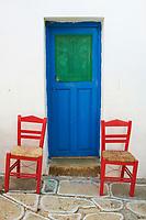 Grece, Cyclades, ile de Folegandros, village de Hora // Greece, Cyclades islands, Folegandros, Hora village