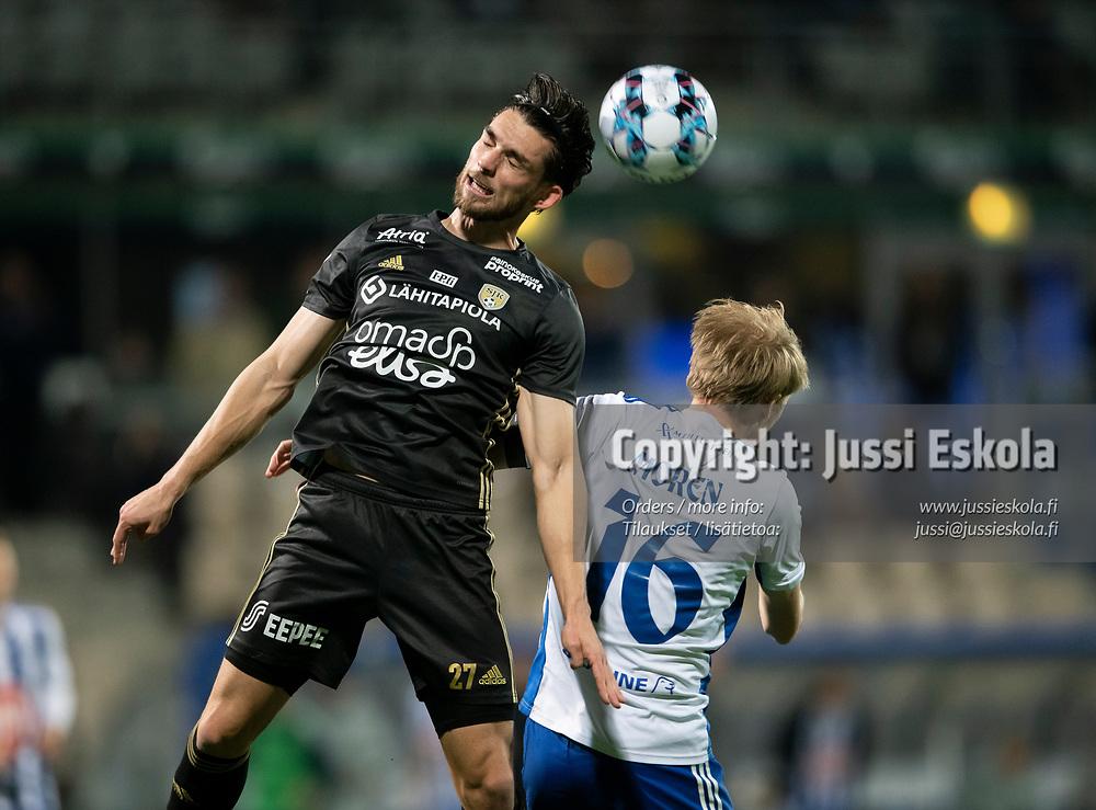Brandon Wilson. HJK - SJK. Veikkausliiga. Helsinki 3.10.2021. Photo: Jussi Eskola