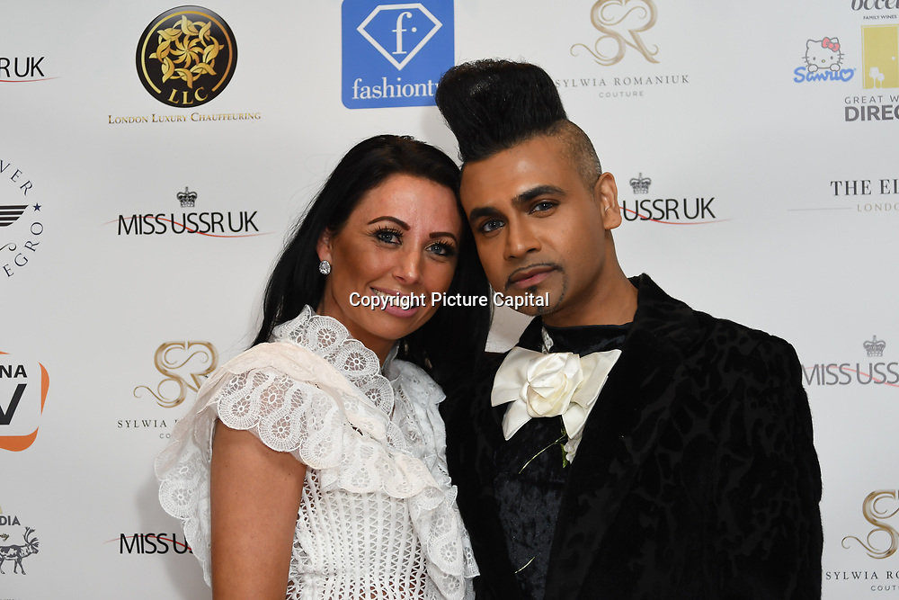 Jay Kamiraz attend Grand Final MISS USSR UK 2019 at Hilton hotel London on 27 April 2019, London, UK.