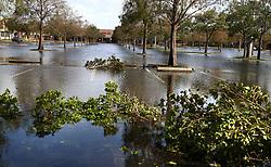 The Plantation Marketplace plaza along Broward Boulevard on Monday, September 11, 2017 a day after Hurricane Irma passed south Florida. Photo by Carline Jean/Sun Sentinel/TNS/ABACAPRESS.COM
