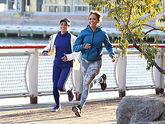 Jennifer Lopez and Vanessa Hudgens filming - 27 Nov 2017
