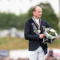 Prize Giving - FEI European Eventing Championships 2015 - Blair Castle