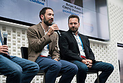 Jed White from TASC Ventures at the Wisconsin Entrepreneurship Conference at Venue 42 in Milwaukee, Wisconsin, Tuesday, June 4, 2019.
