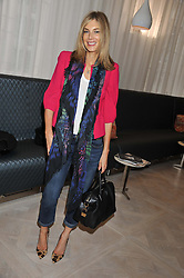 KIM HERSOV at a ladies breakfast hosed by At Last! held at Grace, 11c West Halkin Street, London on 29th January 2013.