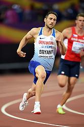 Ashley Bryant of Great Britain in action - Mandatory byline: Patrick Khachfe/JMP - 07966 386802 - 11/08/2017 - ATHLETICS - London Stadium - London, England - 400m Decathlon - IAAF World Championships
