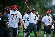 January 28 2016: Tampa Bay Buccaneers quarterback Jameis Winston during the Pro Bowl practice at Turtle Bay Resort on North Shore Oahu, HI. (Photo by Aric Becker/Icon Sportswire)