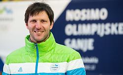 Portrait of Andrej Jerman, former Slovenian Alpine Skier, on January 12, 2018 in Trzic, Slovenia. Photo by Vid Ponikvar / Sportida