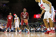 DALLAS, TX - NOVEMBER 25: Bobby Portis #10 of the Arkansas Razorbacks shoots a free-throw against the SMU Mustangs on November 25, 2014 at Moody Coliseum in Dallas, Texas.  (Photo by Cooper Neill/Getty Images) *** Local Caption *** Bobby Portis